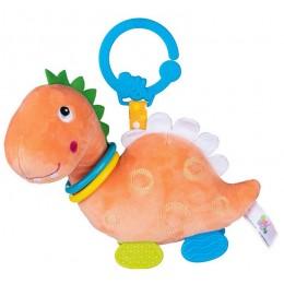 Balibazoo – Zawieszka do wózka – Dinozaur pomarańczowy – 80422