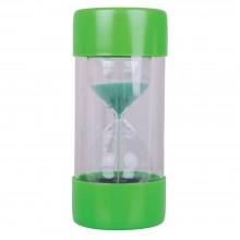 BigJigs BJE0002 Ballotini Timer - Czasomierz z piaskiem zielony 1 minuta