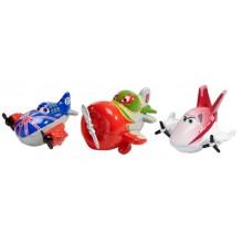 Mattel Y4574 Planes Samoloty Disney - Micro Drifters El Chupacabra, Bulldog, Rochelle