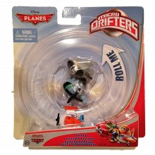 Mattel Y4574 Planes Samoloty Disney - Micro Drifters Turbo Dusty, Hector Vector, Bravo