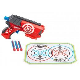 Boomco Pistolet  FARSHOT + tarcza i strzałki Y5728