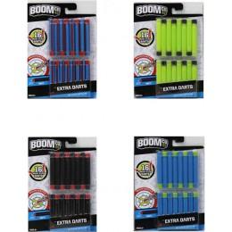 Boomco Y8621 Rzutki Strzałki 16 strzałek 4 kolory