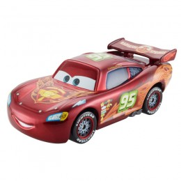 Cars Neon Auta Mattel CBG12 Races Zygzak McQueen