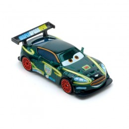 Cars Neon Auta Mattel CBG13 Races Nigel Gearsley