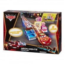 Cars Neon Auta CBN06 Tor Wyścigowy ze Skocznią
