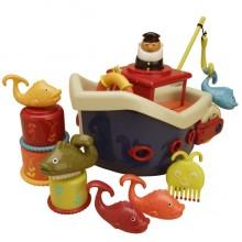 B.Toys - Statek kąpielowy z akcesoriami Fish&Splish - BX1012