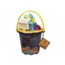 B.Toys - Akcesoria plażowe - Niebieskie wiaderko BX1330