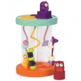 B.Toys - Sorter kształtów z dźwiękiem - Sówki Hooty-hoo BX1384