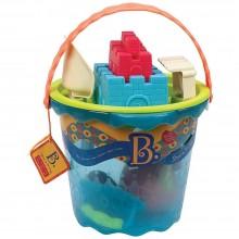B.Toys - Akcesoria plażowe w dużym wiaderku BX1444