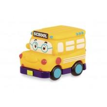 B.Toys - Samochodzik Wheeee-is - Autobus szkolny - BX1495