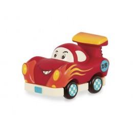 B.Toys - Samochodzik Wheeee-is - Czerwona wyścigówka - BX1496