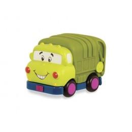B.Toys Samochodzik Wheeee-is Zielona ciężarówka BX1498
