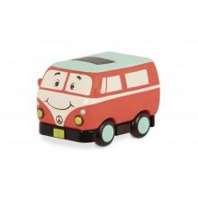 B.Toys - Samochodzik Wheeee-is - Czerwony autobus - BX1502