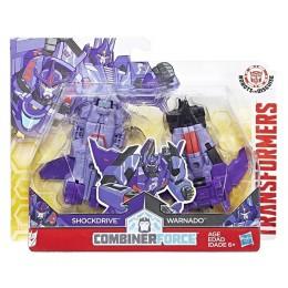 Hasbro Transformers C2343 Shockdrive i Warnado - Crash Combiners