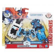 Hasbro Transformers C2344 Strongarm i Optimus Prime - wersja Lunar Force
