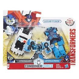 Hasbro Transformers C2344 Strongarm i Optimus Prime - wersja Lunar Force