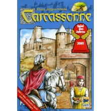 Carcassonne gra planszowa podstawa do gry