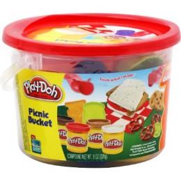 Ciastolina 23412 Play-Doh Wiaderko Piknikowe
