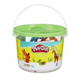 Ciastolina Play-doh - Zielone wiaderko Zwierzęta 23413