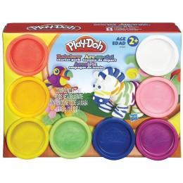 Ciastolina Play-doh A7923 - Tęczowy zestaw 8 tub