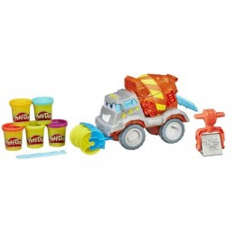 Ciastolina Play-Doh B1858 - Betoniarka