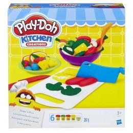 Ciastolina Play-doh Kuchnia - Warzywa do krojenia B9012