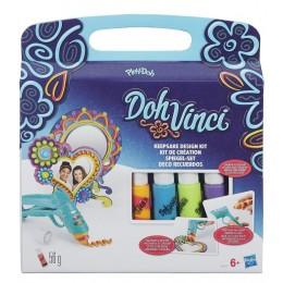 Ciastolina B1717 Play Doh Vinci - Tęczowy Zestaw z Lustrem