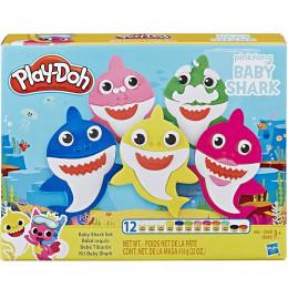 Ciastolina Play-Doh - Zestaw Pinkfong Baby Shark - Wesołe rekiny E8141