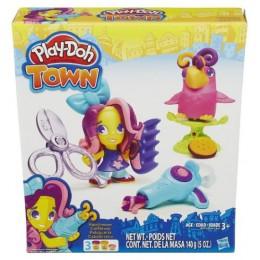 Ciastolina Play-Doh Town B5973 Fryzjer i Szalona Papuga