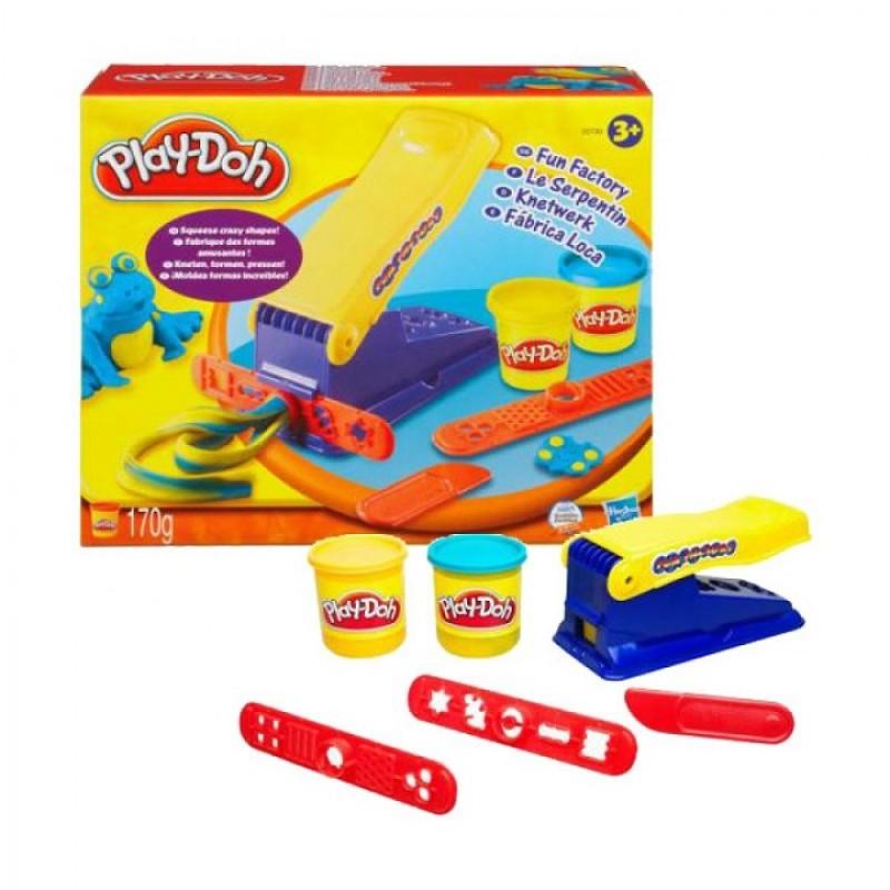 Ciastolina Play Doh Fun Factory Wyciskarka Fabryka Śmiechu