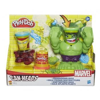 Ciastolina Play-Doh Marvel Hulk Wyciskana Głowa B0308