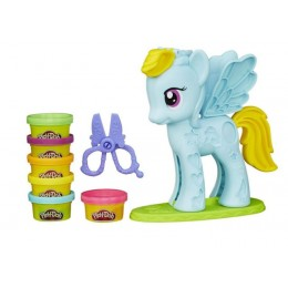 Ciastolina Play-Doh Salon Fryzjerski Rainbow Dash B0011