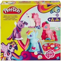Ciastolina Play-Doh Stylowe Kucyki My Little Pony B0009