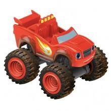 Fisher Price Blaze - Samochodzik die-cast Ubłocony Wyścigowy Blaze CJJ47