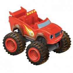 Fisher Price Blaze - Samochodzik die-cast CJJ47 Wyścigowy Blaze
