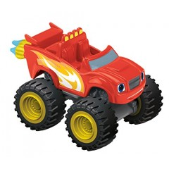 Fisher Price Blaze - Samochodzik die-cast CJJ48 Blazing Speed Blaze