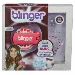 Blinger - Kryształki do stylizacji + urządzenie kolor różowy - 18500 18501