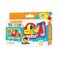 CzuCzu 5730989 Puzzle Do Pary - Pojazdy