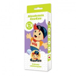 CzuCzu 4664310 Akademia CzuCzu - Zabawy Edukacyjne 2-3 lata