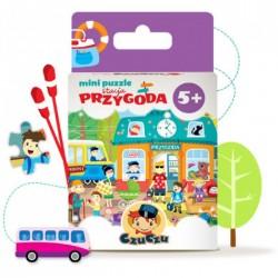 CzuCzu 4767498 Mini Puzzle 80 - CzuCzu w Podróży - Stacja Przygoda