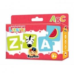 CzuCzu 4868142 Puzzle do Pary - Literki