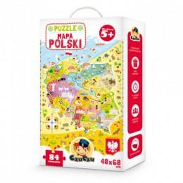 CzuCzu 4862610 Puzzle - Mapa Polski