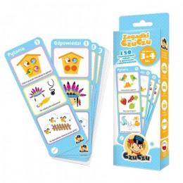 CzuCzu 4815452 Zagadki CzuCzu dla dzieci w wieku 3-4 lat