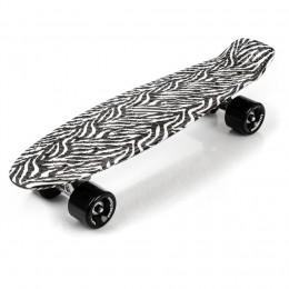 Meteor 23871 Deskorolka pennyboard zebra