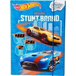 TM Toys DKC8175 Hot Wheels: Pojazdy Fantasy Book - Szkicownik