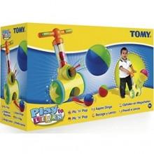 Tomy E71161 Piłeczkowy Jeździk - Zbieracz Piłek