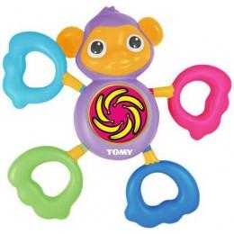 Tomy E72353 Zabawka Gryzak - Muzyczna Małpka