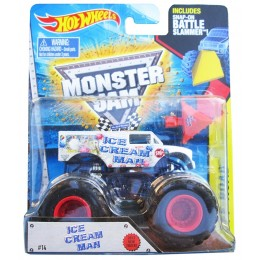 Hot Wheels Monster Jam DWM96 Superterenówka ICE CREAM MAN