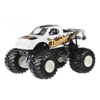 Hot Wheels Monster Jam DWN04 Superterenówka THUNDER