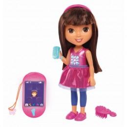 Fisher Price DXB81 Mówiąca lalka Dora i smartfonik
